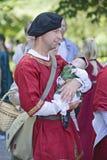 Mittelalterlicher Mann Lizenzfreie Stockfotos