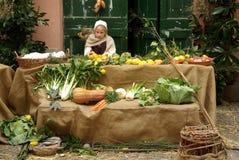 Mittelalterlicher Markt Lizenzfreies Stockbild