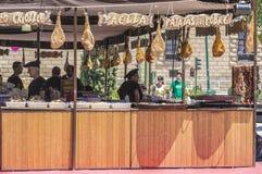 Mittelalterlicher Markt Stockbilder