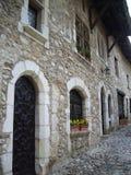 Mittelalterlicher Palast stockbild