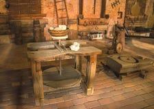 mittelalterlicher Raum des Verfassers lizenzfreies stockfoto