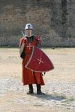 Mittelalterlicher Ritter. Lizenzfreies Stockfoto
