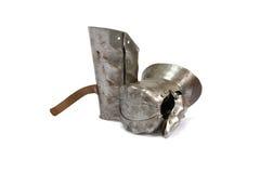 Mittelalterlicher Ritter Glove Lizenzfreie Stockfotografie