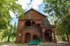 Mittelalterlicher russischer Adel prachtvolle salles und Kammern, Uglich, Russland Stockfotografie