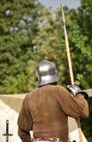 Mittelalterlicher Soldat 3 Stockfotos