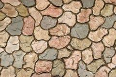 Mittelalterlicher Steinwand-Hintergrund Lizenzfreies Stockfoto