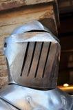 Mittelalterlicher Sturzhelm Lizenzfreies Stockbild