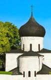 Mittelalterlicher Tempel Stockfoto