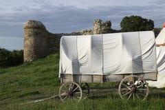 Mittelalterlicher Wagen stockbilder