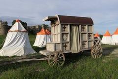 Mittelalterlicher Wagen lizenzfreie stockfotografie