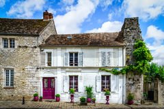 Mittelalterlicher Wohnsitz in Provins stockfotos