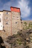 Mittelalterlicher Wolkenkratzer stockbilder