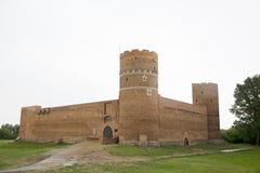 mittelalterliches altes Schloss Stockbilder