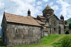 Mittelalterliches armenisches klösterliches komplexes Haghpatavank Stockfoto