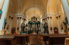 Mittelalterliches Basilian Kloster Buchach bei West-Ukraine, Ternopil Stockfotos