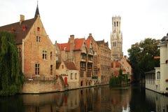 Mittelalterliches Brügge in Belgien Stockfotos
