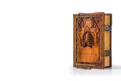 Mittelalterliches Buch mit Kette Stockfoto