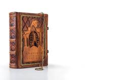 Mittelalterliches Buch mit Kette Lizenzfreie Stockfotografie
