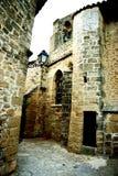 Mittelalterliches Dorf stockfotos
