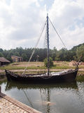 Mittelalterliches Dorf Stockfoto
