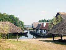 Mittelalterliches Dorf Lizenzfreie Stockfotos