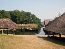Mittelalterliches Dorf Lizenzfreies Stockfoto