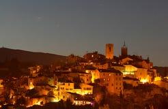 Mittelalterliches Dorf von Biot Stockbild