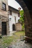 Mittelalterliches Dorf von Cornello-dei Tasso Lizenzfreies Stockfoto