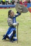 Mittelalterliches Festival Tlaxcala, Mexiko lizenzfreies stockfoto