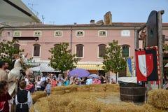 Mittelalterliches Festivalspiel lizenzfreies stockfoto