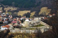 "Mittelalterliches Festung ""Stari Gradâ€- stockbild"