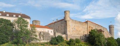 Mittelalterliches fortness in Tallinn, Estland stockfoto