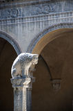 Mittelalterliches Gebäude Bologna Italien Lizenzfreie Stockfotos