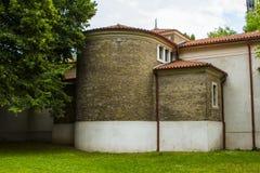 Mittelalterliches Gebäude in Visegrad, der alte Bezirk der alten Stadt von Prag Tschechische Republik Stockfoto