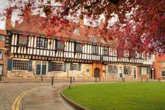 Mittelalterliches Gebäude, York. Lizenzfreie Stockfotos