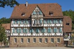 Mittelalterliches Haus Stockfotografie