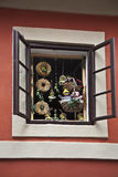 Mittelalterliches Haus in Prag Lizenzfreie Stockfotos