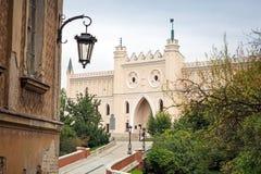 Mittelalterliches königliches Schloss in Lublin Lizenzfreies Stockbild