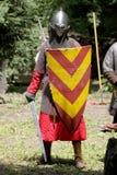 Mittelalterliches Knight lizenzfreies stockfoto