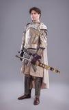 Mittelalterliches Knight Lizenzfreie Stockfotos