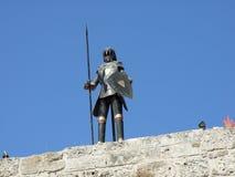 Mittelalterliches Knight Stockbild