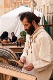 Mittelalterliches Mdina-Festival Stockbilder