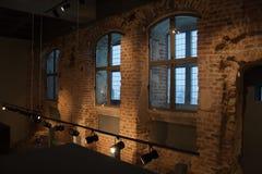 Mittelalterliches Museum Stockfotografie