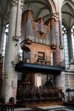 Mittelalterliches Organ stockfotografie