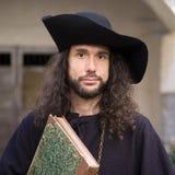 Mittelalterliches Porträt Stockfotos