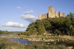 Mittelalterliches portugiesisches Schloss lizenzfreie stockbilder