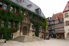 Mittelalterliches Quedlinburg Lizenzfreie Stockbilder