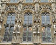 Mittelalterliches Rathaus des Herrn Lizenzfreies Stockfoto