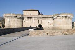 Mittelalterliches Schloss Stockfotos
