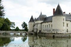 Mittelalterliches Schloss. Stockfotos